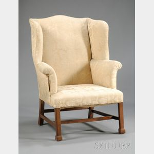 Chippendale Walnut Armchair