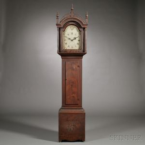 Paint-decorated Tall Clock