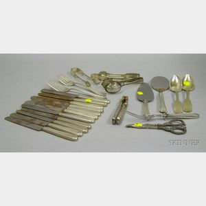 Group of Silver and Sterling Silver Flatware