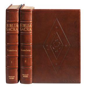 Gutenberg Bible Facsimile.