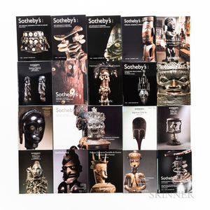 Twenty Tribal Art Auction Catalogs
