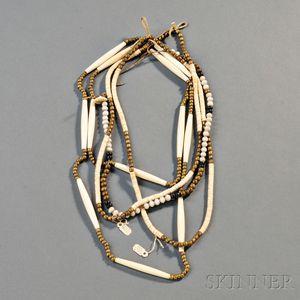Four Plains Beaded Necklaces