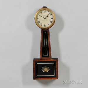 "Simon Willard & Son No. 4449 Patent Timepiece or ""Banjo"" Clock"
