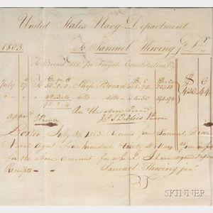 (Massachusetts History and Navy)