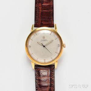 Omega, Gentleman's 18kt Gold Wristwatch