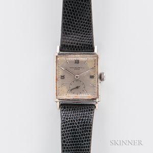 Patek Philippe Stainless Steel Manual-wind Wristwatch
