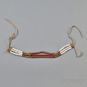 Plains Beaded Choker