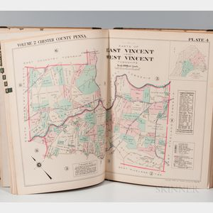 Pennsylvania. Property Atlas of Chester County, Penna. Volume Two.
