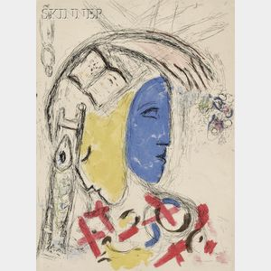 Marc Chagall (French/Russian, 1887-1985)      Plate