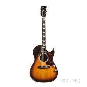 Gibson CF-100E Acoustic Electric Guitar, c. 1957