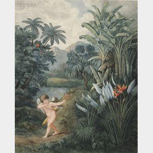 Dr. Robert John Thornton, publisher (British, c. 1768-1837), After      Philipp Reinagle (British, 1749-1833)  Frontispiece