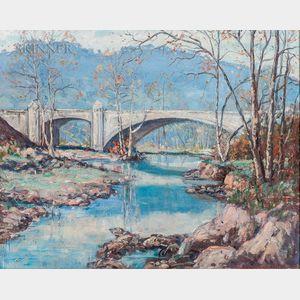 Jefferson Stephen Ward (American, 1876-1949)      Hyperion Bridge