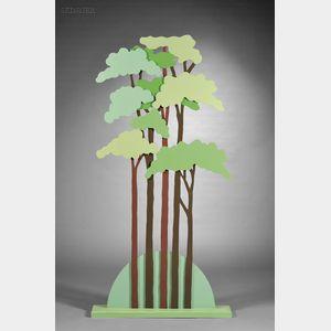 Mo McDermott (British, 20th/21st Century)      Trees