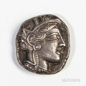 Attica, Athens AR Tetradrachm, 440-404 BC