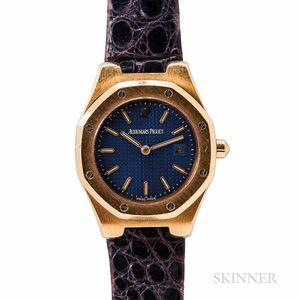 """Audemars Piguet 18kt Gold """"Royal Oak"""" Quartz Wristwatch"""