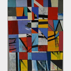 Irving B. Haynes (American, 1927-2005)      Three Untitled Works