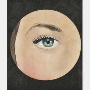 After René Magritte (Belgian, 1898-1967)      L'oeil