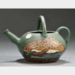 Eduard Stellmacher Teapot