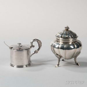 Two English Sterling Silver Items