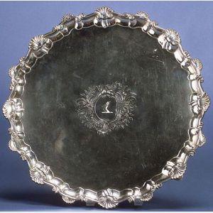 George III Silver Salver