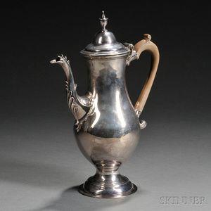 Georgian-style Silver Coffeepot