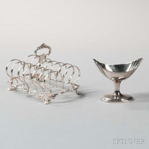 Two Pieces of British Sterling Silver Tableware