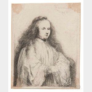 Rembrandt van Rijn (Dutch, 1606-1669)      The Little Jewish Bride (Saskia as Saint Catherine)