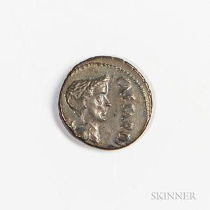 Roman Republic, Marc Antony as Imperator AR Denarius