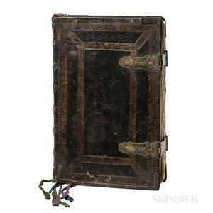 Missale Romanum, ex Decreto Sacrosancti Concilii Tridentini Restitutum.