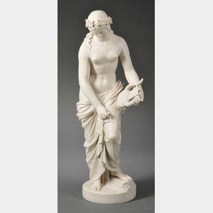 Copeland Parian Figure of Sappho