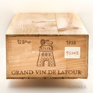 Chateau Latour 1998, 12 bottles (owc)