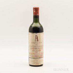 Chateau Latour 1957, 1 bottle