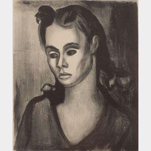 Will Barnet (American, b. 1911)    Mary