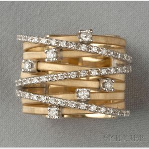 "18kt Gold and Diamond ""Goa"" Ring, Marco Bicego"