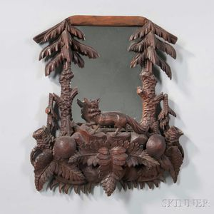 Black Forest-style Mirror