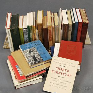 Group of Mostly American Antique Reference Books