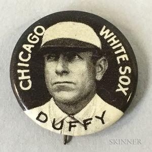 1910-1912 Hugh Duffy Sweet Caporal Pin.