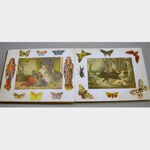 Victorian Die-cut Scrap Album