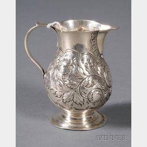 George II Silver Creamer