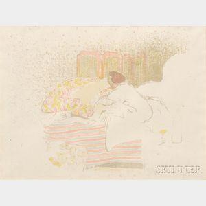 Édouard Vuillard (French, 1868-1940)      La naissance d'annette