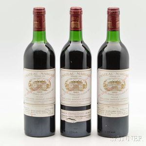Chateau Margaux 1982, 3 bottles