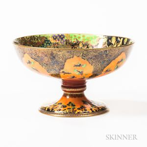Wedgwood Flame Fairyland Lustre Chalice Bowl