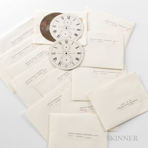 Twenty-seven Hamilton Chronometer Dials