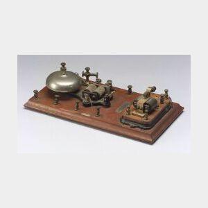 Demonstration Wireless Telegraphy Coherer Receiver