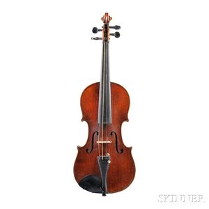 French Three-quarter Size Violin