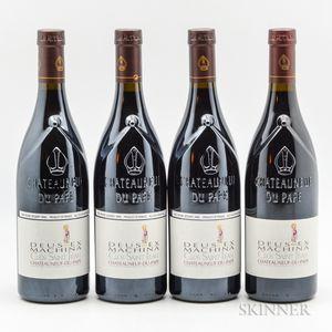 Clos Saint Jean Chateauneuf du Pape Deus Ex Machina, 4 bottles