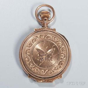 Elgin Gold-filled Hunter-case Pocket Watch