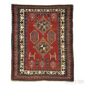 Bordjalou Kazak Prayer Rug