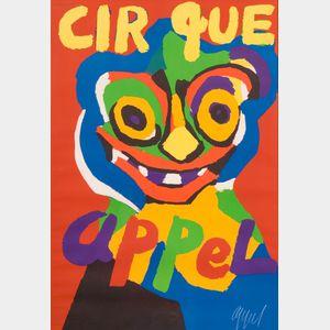 Karel Appel (Dutch, 1921-2006)    Cirque Appel