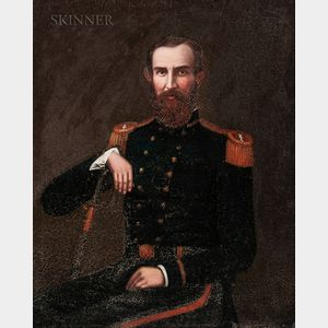 American School, Mid-19th Century      Seated Naval Officer